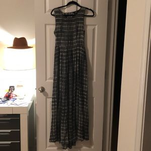 NEUW/ANTHROPOLOGIE maxi dress with open back